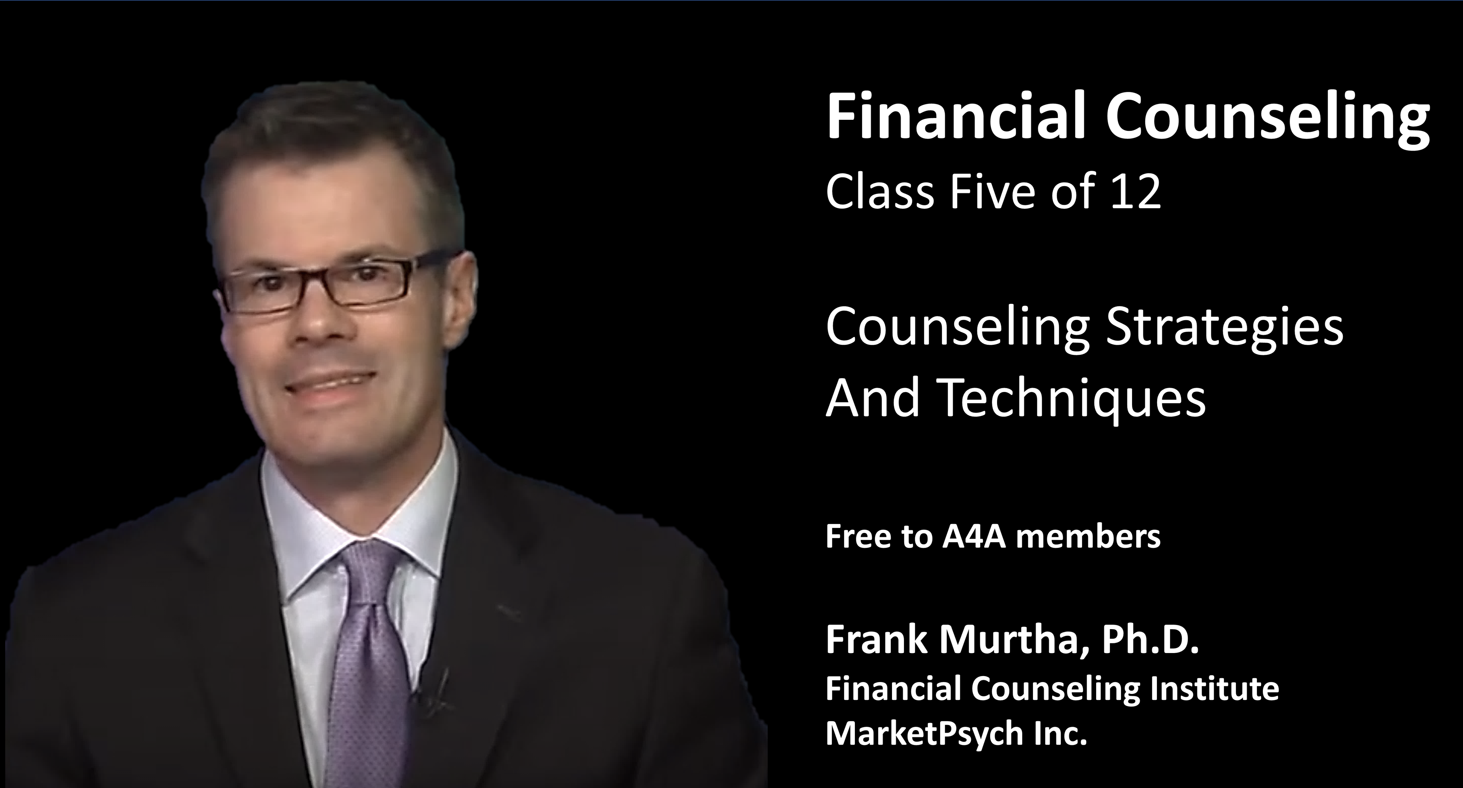 Counseling Strategies And Techniques (1 Credit)
