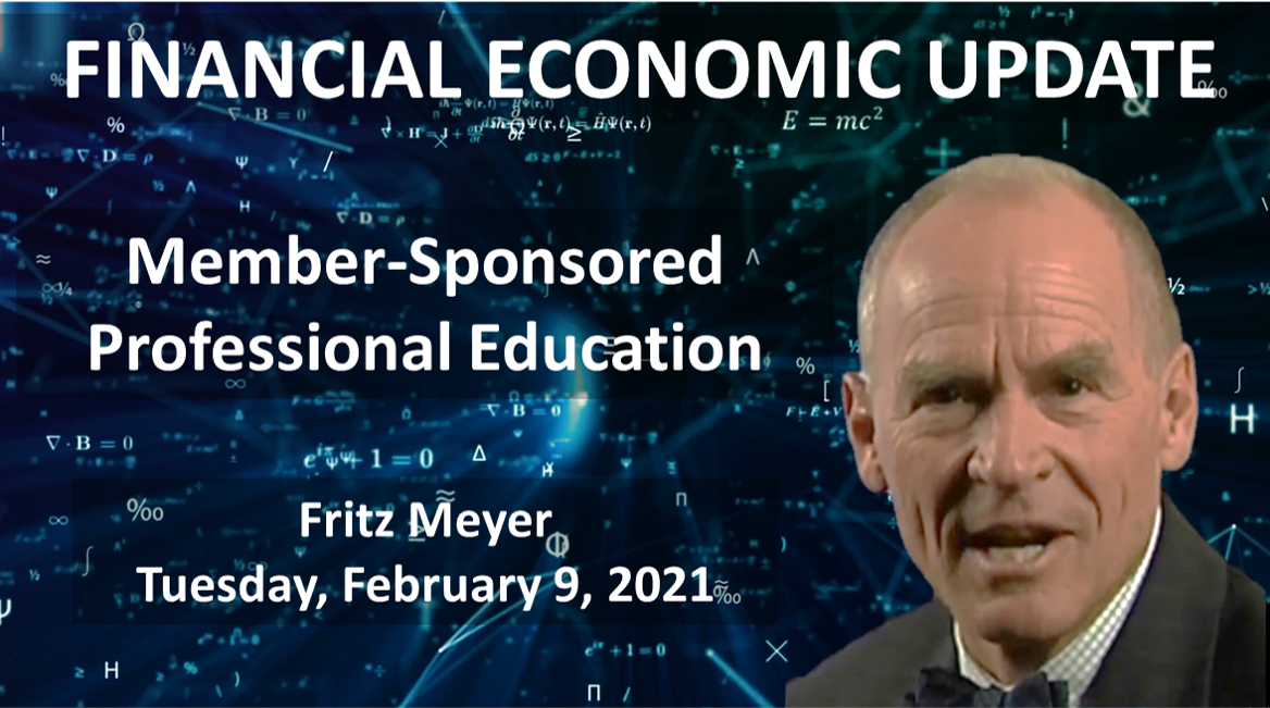 Investment Professional CE, Fritz Meyer, Feb. 2021