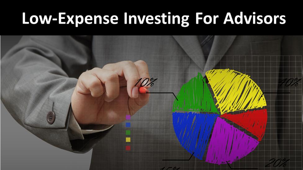 Low-Expense Investing For Tax, Financial & Investment Planning Professionals
