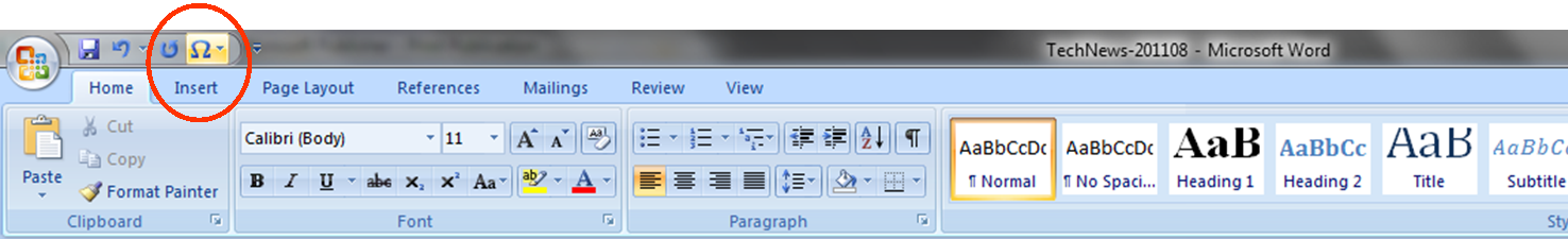Microsoft Office Tip Use The Quick Access Toolbar To Make It Easier