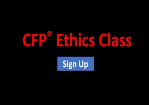 CFP Ethics Class And Quiz Now Available