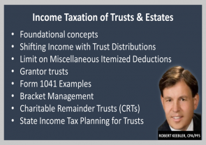 24/7 CE Replays For CFPs®, Income Taxation of Trust Estates For Fiduciaries, On Advisors4Advisors