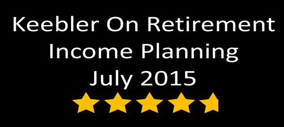 Keebler Retirement Income Planning Webinar Receives 4.8-Stars